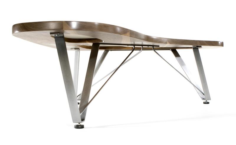 ... Boomerang Cocktail Table Underneath View ...
