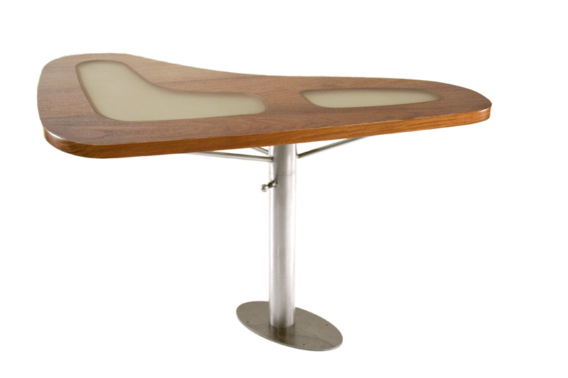 Boomerang Dining Table Right Side Boomerang Dining Table Left Side ...
