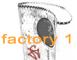 factory 1 design logo