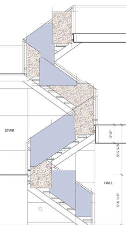 laurel stair rendering